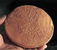 Star map: The circular stone-cast tablet was recovered from the 650 BC underground library of King Ashurbanipal in Nineveh, Iraq in the late 19th century. Long thought to be an Assyrian tablet, computer analysis has matched it with the sky above Mesopotamia in 3300 BC and proves it to be of much more ancient Sumerian origin Read more: http://www.messagetoeagle.com/controversial-5500-year-old-sumerian-star-map-of-ancient-nineveh-reveals-observation-of-kofels-impact-event/#ixzz43MAKi2vN