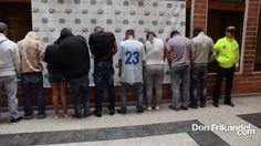 """Con la Dijin afectamos banda delincuencial """"Los Calvos"""" judicializando a..."""