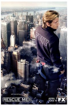 A great poster of Dennis Leary as FDNY Firefighter Tommy Gavin from the TV Show Rescue Me! Ships fast. 11x17 inches.