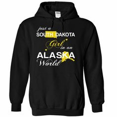 (SDJustVang002) Just A #South Dakota Girl In A Alaska World, Order HERE ==> https://www.sunfrog.com/Valentines/-28SDJustVang002-29-Just-A-South-Dakota-Girl-In-A-Alaska-World-Black-Hoodie.html?6789, Please tag & share with your friends who would love it , #christmasgifts #renegadelife #jeepsafari  #south dakota badlands, deadwood south dakota, south dakota photography #science #nature #sports #tattoos #technology #travel