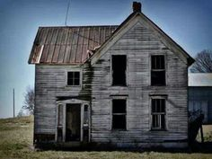 Abandoned Houses, Abandoned Places, Cambridge Ohio, Ghost Towns, Homesteading, Kentucky, Farmhouse, Cabin, House Styles