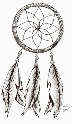 dream catcher tattoo template - my compass dream catcher drawing my drawings