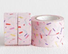 pink sprinkles washi tape