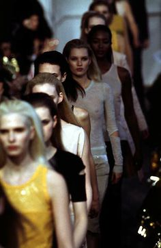 Helmut Lang F/W 1996 - the Fashion Spot