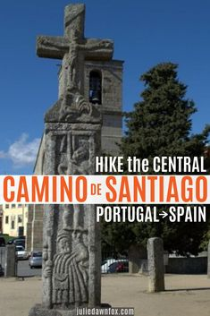 Find out what to expect from the Central Portuguese Camino de Santiago stages from Porto to Santiago and useful information about the route as a whole. Places In Portugal, Spain And Portugal, Portugal Travel, Spain Travel, Europe Train Travel, Europe Travel Tips, European Destination, European Travel, Camino Portuguese