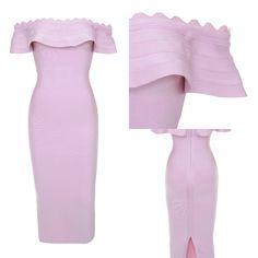 Kiki Purple Bandage Dress