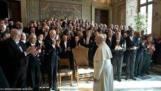Pape François - Pope Francis - Papa Francesco - Papa Francisco - 2014 : Rencontre du Pape avec les membres du Corps Diplomatique auprès du St Siège