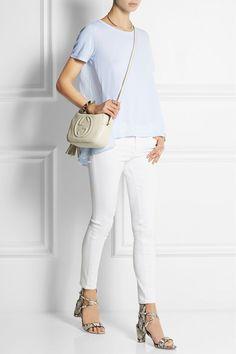 Clu Cotton and modal-blend silk top. NET - A - PORTER