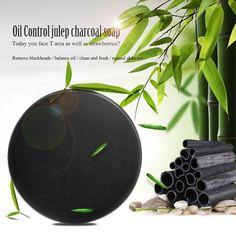 Bamboo charcoal handmade soap Treatment skin care natural Skin whitening soap blackhead remover acne treatment oil control