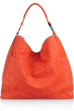 Vanessa Bruno Leather hobo bag