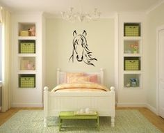 Horse Vinyl Wall Decal Sticker Graphic By LKS Trading Post