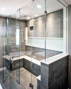 Bathroom Shower Lighting Ideas New top 50 Best Shower Lighting Ideas Bathroom Illumination Home Depot Vanity, Home Depot Bathroom, Bathroom Spa, Bathroom Shower Curtains, Master Bathroom, Bathroom Ideas, Bathroom Inspiration, Paris Theme Bathroom, Blue Bathroom Decor