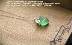 beautiful gift idea inexpensive  remember zen boutique https://www.etsy.com/listing/130551701/sugary-sea-glass-necklace-perfect-for?ref=shop_home_feat_2