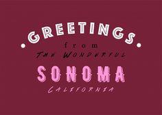 WONDERFUL SONOMA | Urlaubsgrüße | Echte Postkarten online versenden | MyPostcard.com
