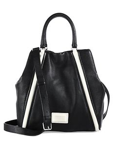 Black and White Classic: Marc by Marc Jacobs - Q Fran Satchel