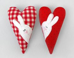 Maybe I'll get around to making little mini bunny pillows for each of the kids. They would love these.