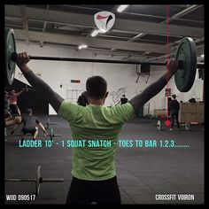 WOD 090517  #CrossFit #Voiron #CrossFitVoiron #Wod #Training #OriginalAthlete #Become #smh #DuSportMaisPasQue #Training #Wod #SquatSnatches #ToesToBar