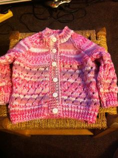 Knitted in Sirdar baby Crofters