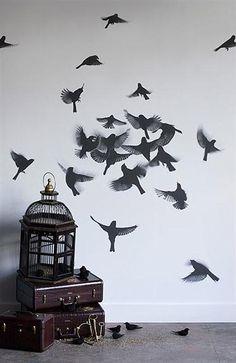 Pájaros y jaulas decorativas para el hogar - DecoraHOY
