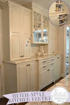 Pantry Cabinet: Pantry Hutch Cabinet with Amish Corner Cabinet ...