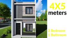 Affordable House Plans, Small House Design, Home Design Plans, Mansions, Bedroom, House Styles, Outdoor Decor, Youtube, Africa