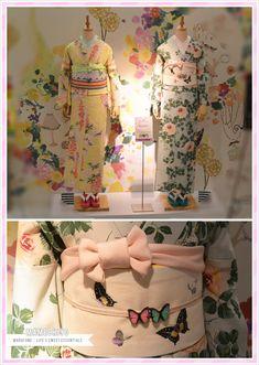 Mamechiyo Modern  It's such a cute Springcoordinate. I imagine two beautiful girls strolling under wisteriatunnels or drinking tea at hanami <3