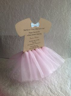 Hey, I found this really awesome Etsy listing at https://www.etsy.com/listing/188218394/bow-ties-or-tutus-baby-shower-invitation