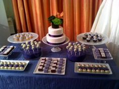 Dessert Display - incorporate Berger's cookies and cookies/desserts from Otterbein's Bakery -  or use as favors