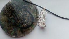 Free Shipping Beautiful Selenite Necklace by Earthtroddengoddess