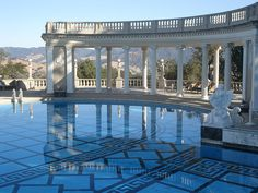 What a great picture of the Hearst Castle Neptune Pool in San Simeon, California