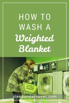 How to Wash a Weighted Blanket Weighted Vest, Weighted Blanket, Natural Sleep Remedies, Blanket Cover, Diy Cleaning Products, Good To Know, Helpful Hints, Health And Wellness, People