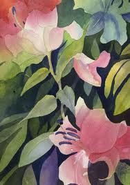 poured watercolor paintings - Google Search