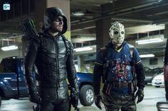 "#Arrow 5x11 ""Second Chances"" - Oliver/Green Arrow and Rene/Wild Dog"