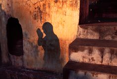 Bodh Gaya, India   The Sun never knew how wonderful it was until it fell on the wall of a building.  Louis Kahn, Architect quoted in forward of In Praise of Shadows,  Junichiro Tanizaki
