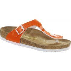 Birkenstock Arizona Les Pantoufles Eva Pour Les Adultes (unisexe), Orange (orange Fluo), 37 Eu