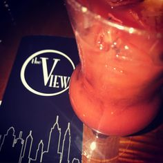 The View NYC Bloody Mary #njbloodymary
