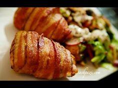 Baconban sült