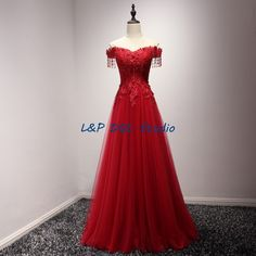 Aliexpress.com : Buy Fabulous Evening Dresses Strapless Sleeveless Lace up back Pleats Tulle Applique with Beads Sequins Formal Dresses from Reliable applique dress suppliers on L&P DQL Studio Lpdress Store