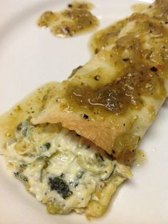 Learn how to make Chicken Enchiladas. MyRecipes has tested recipes and videos to help you be a better cook. Tortilla Bake, Roll Ups Tortilla, Soup Recipes, Recipies, Healthy Recipes, Good Food, Yummy Food, Tasty