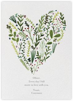 Floral Heart (Lizzie Stewart) - Paperless Post