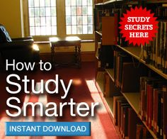 Learn how to study smarter with Earn Better Grades.