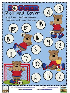 Soccer Roll & Cover Freebie