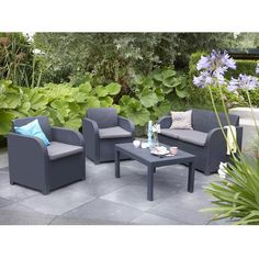 Found it at Wayfair.co.uk - Oklahoma 4 Seater Sofa Set with Cushions