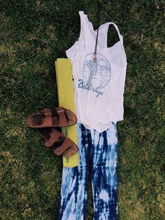 Yoga Pants Shibori Yoga Pants Festival Bell Bottoms by LylaLotus