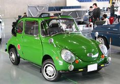 Subaru 360. Production reached one million before finishing in 1960. Only 72 came to Australia.