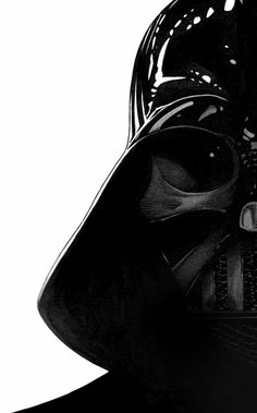 Darth Vader drawn