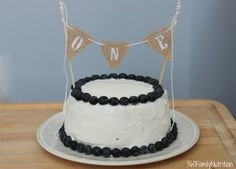Healthy Smash Cake by Kristen Smith
