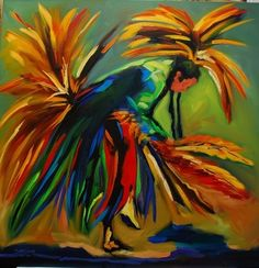 NATIVE AMERICAN DANCE- original painting