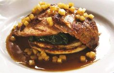 Bryan Webb's duck breast recipe brings together a quadruple hit of apple flavours - or you can visit Bryan at Tyddyn Llan