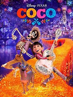 Coco  In Disney•Pixar's extraordinary adventure, a boy who dreams of becoming a great musician embarks on a journey to uncover the mysteries behind his ancestor's stories and traditions.  Starring: Anthony Gonzalez, Gael García Bernal, Benjamin Bratt